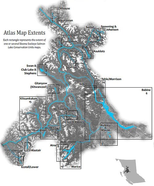 Atlas Index Map